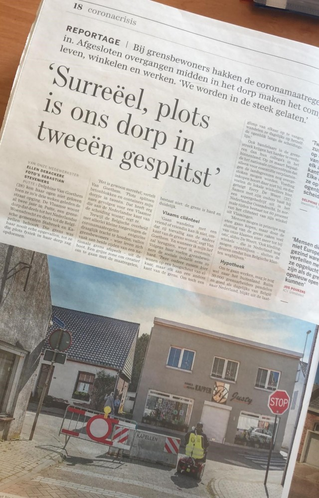 artikel DS 8 april 2020 kopie